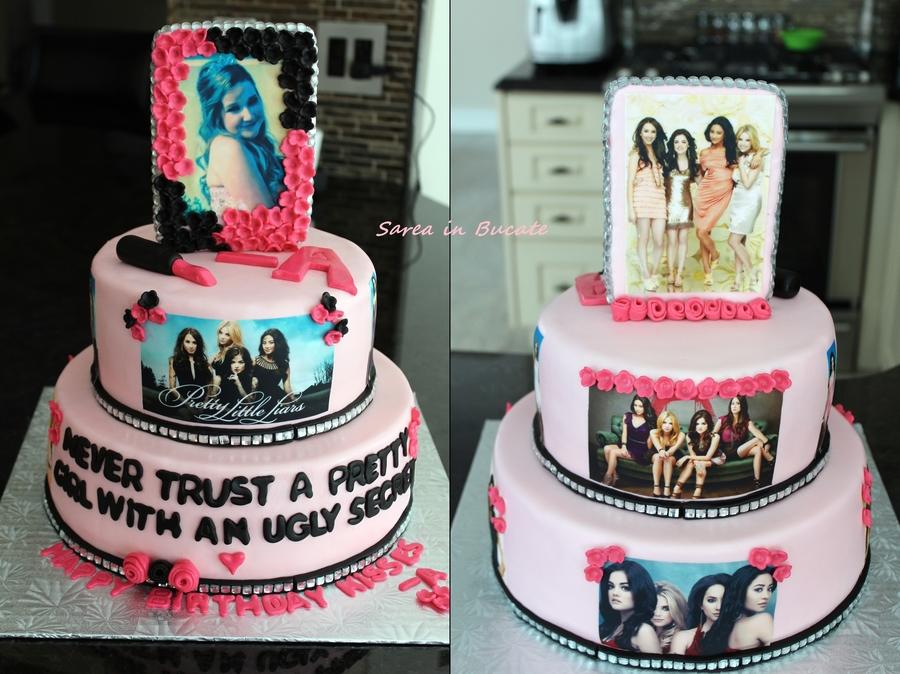 Pll Birthday Cake
