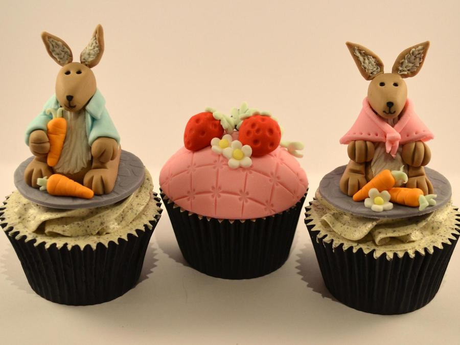 Peter Rabbit Themed Cupcakes on Cake Central