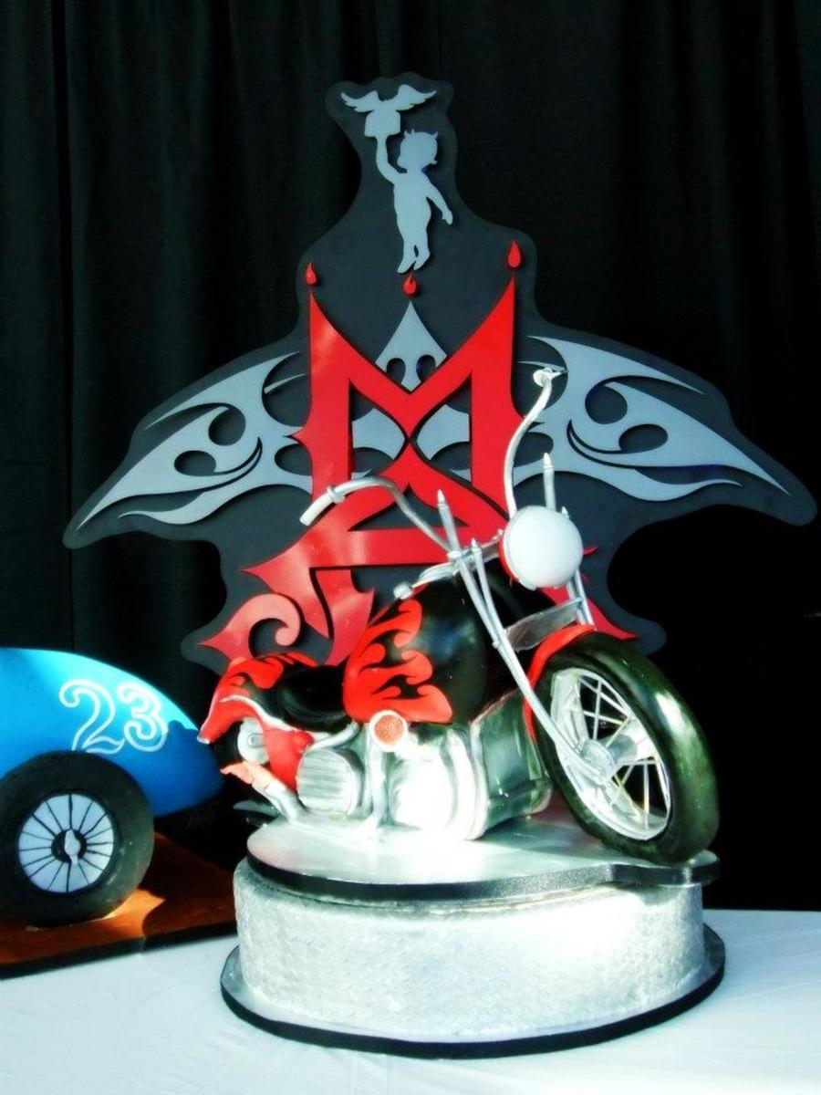 Motorcycle Chopper on Cake Central