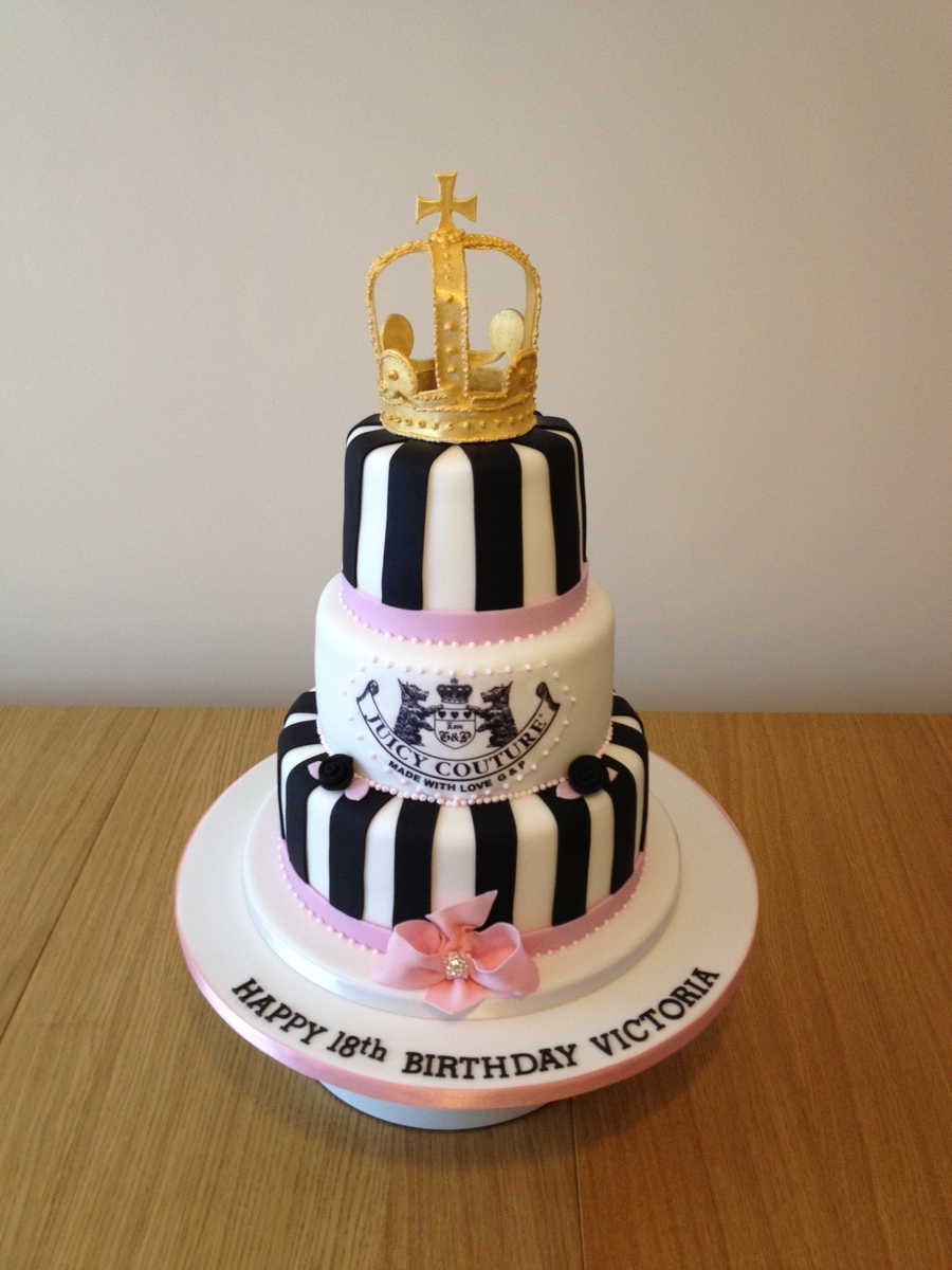 Juicy Couture Birthday Cakes