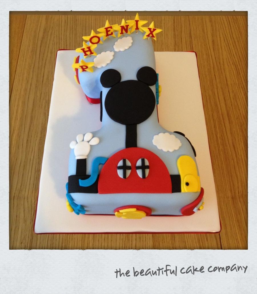 Mickey Mouse Cake Recipe