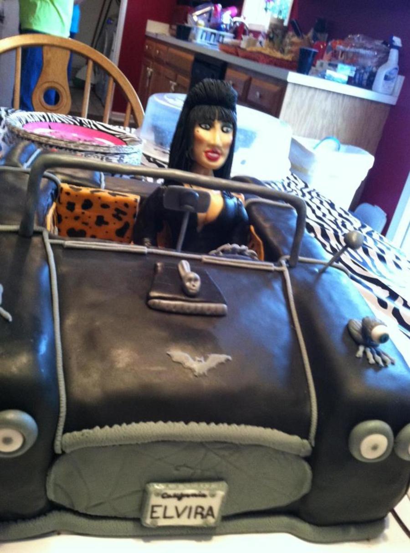 Elvira Birthday Cake Elvira Is Gumpaste Along With A Lot