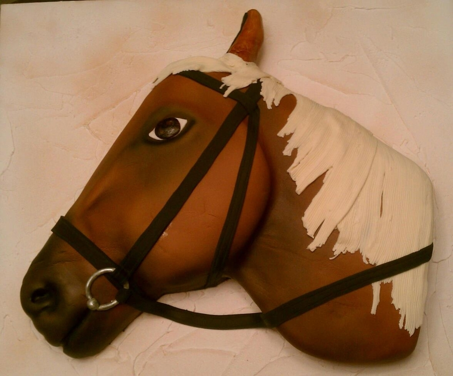 Horse Head on Cake Central