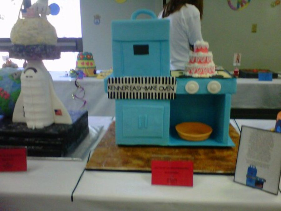 Easy Bake Oven From 1963  on Cake Central