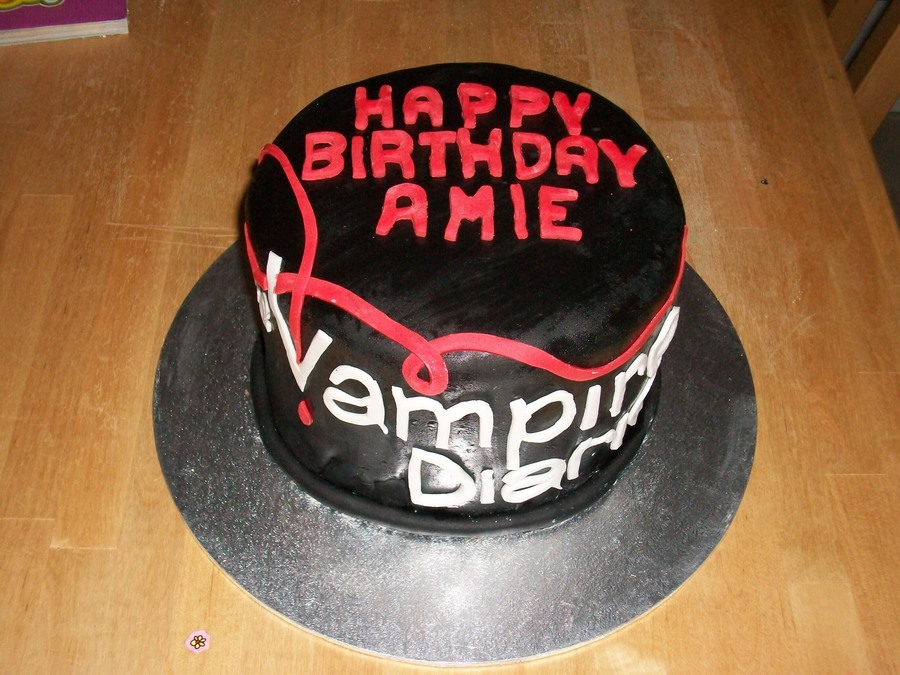 Vampire Diaries Cake Cakecentral