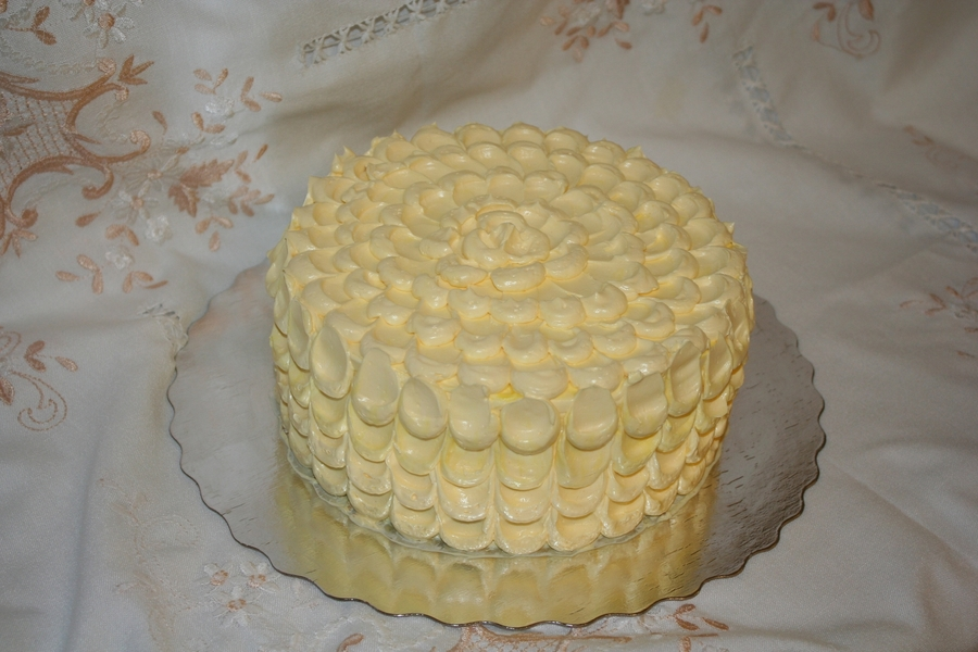 French Buttercream Cake on Cake Central