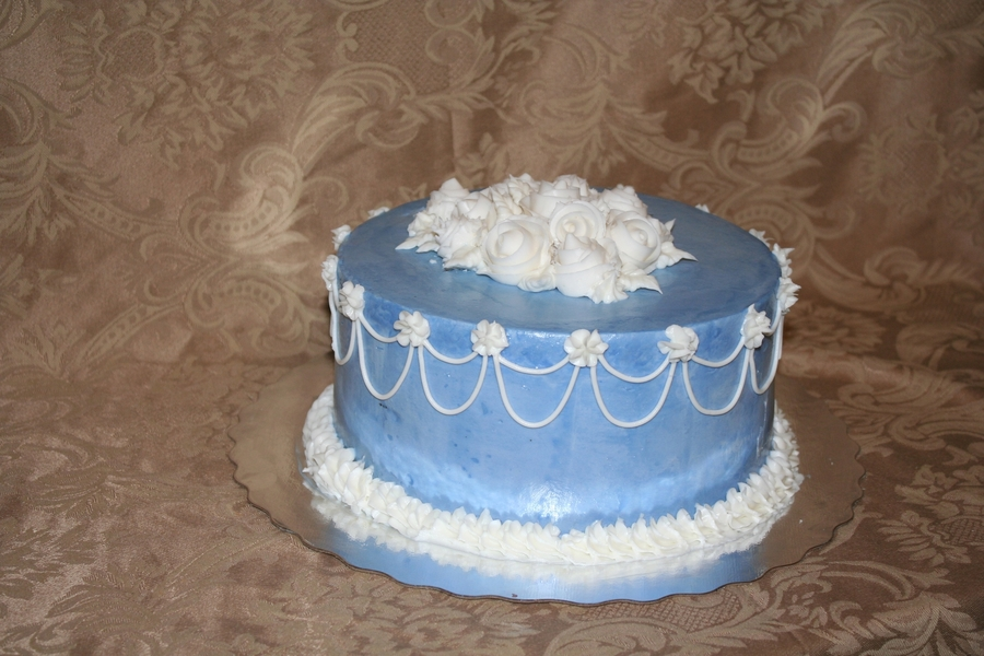 Wilton Class Second Cake on Cake Central