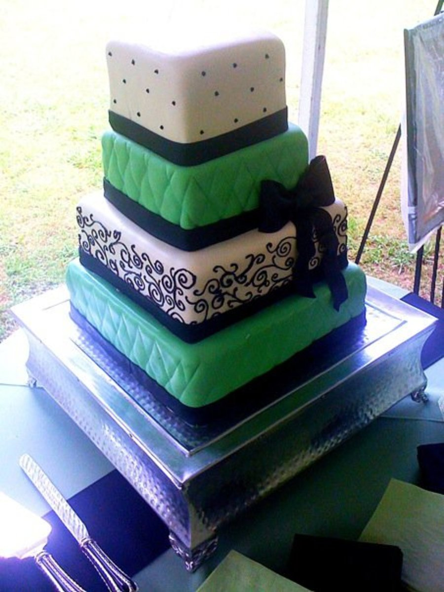 Quilted Wedding on Cake Central