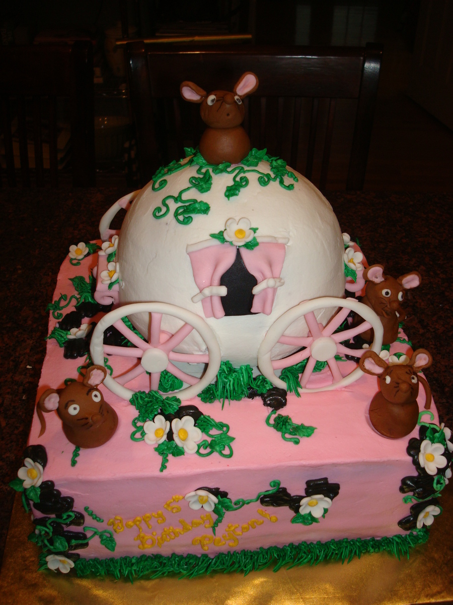Cinderella Goes To The Ball on Cake Central