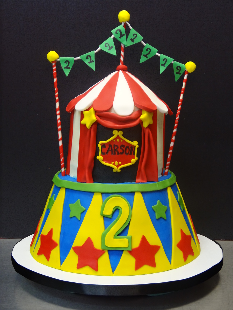 Big Top Tent Circus Cake on Cake Central & Big Top Tent Circus Cake - CakeCentral.com