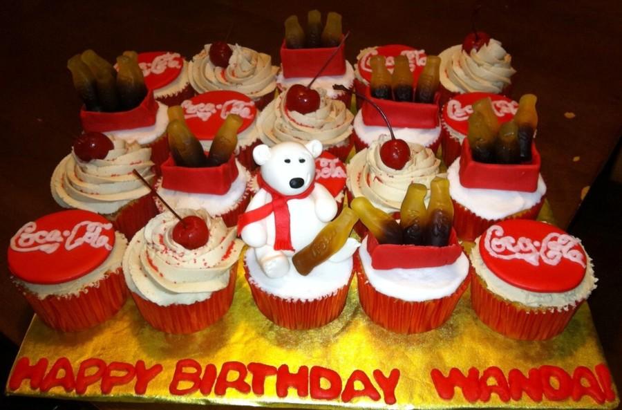 Coca-Cola Cupcakes - CakeCentral.com