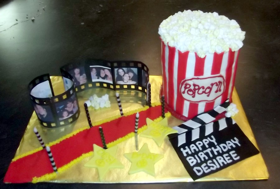 Hollywood & Movie Theme on Cake Central