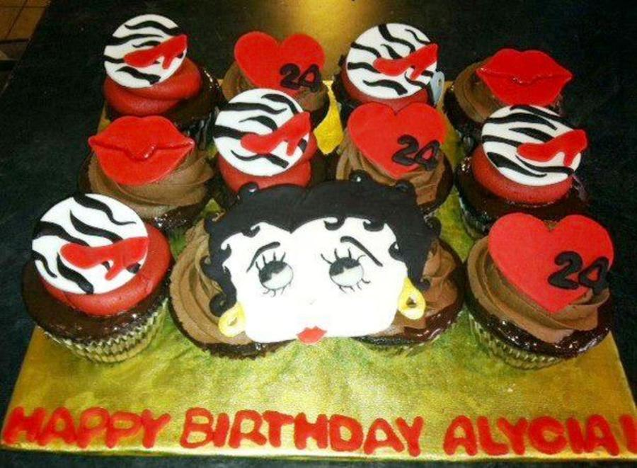 Betty Boop Cupcakes Cakecentral Com