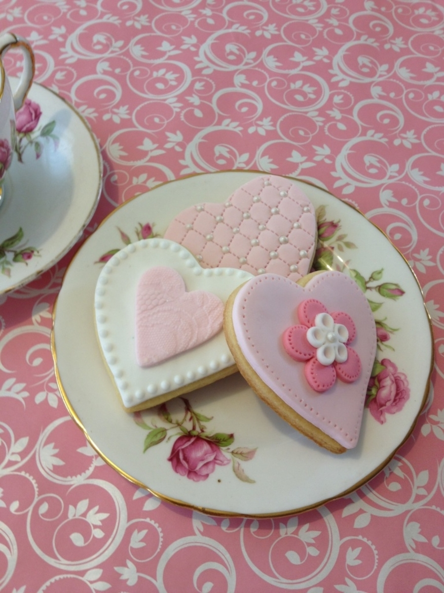Sweet Valentine Cookies on Cake Central