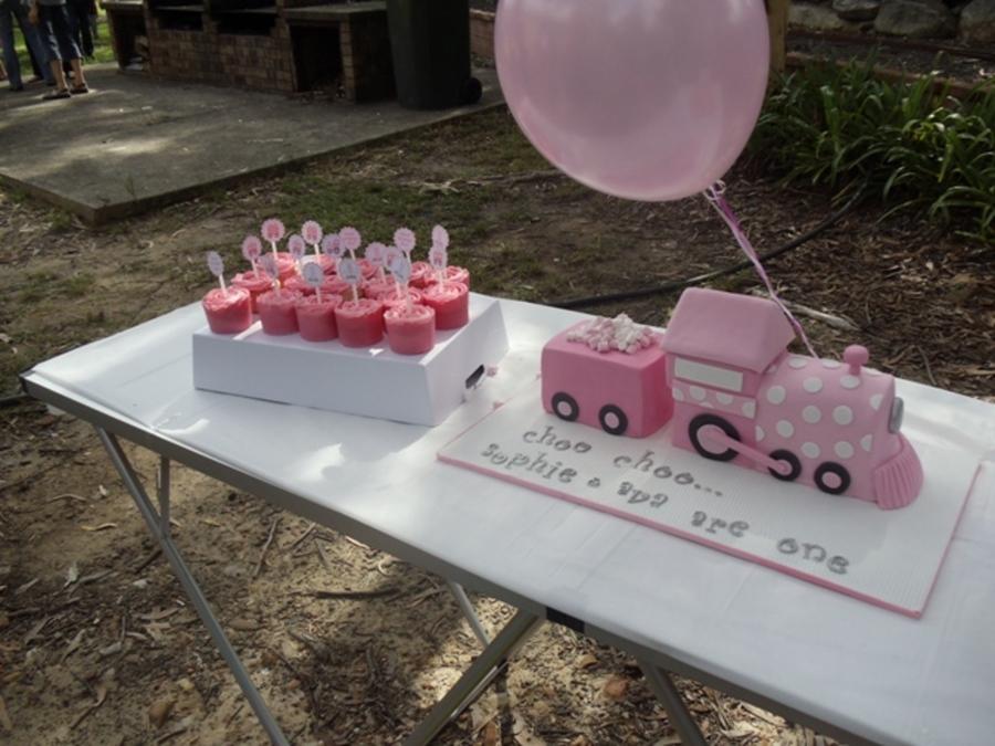 Pink Train Cake Cakecentral Com