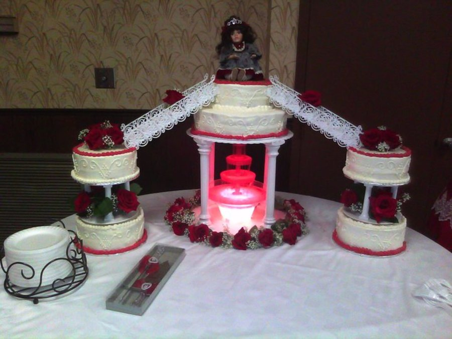 Quinceanera Cake  on Cake Central