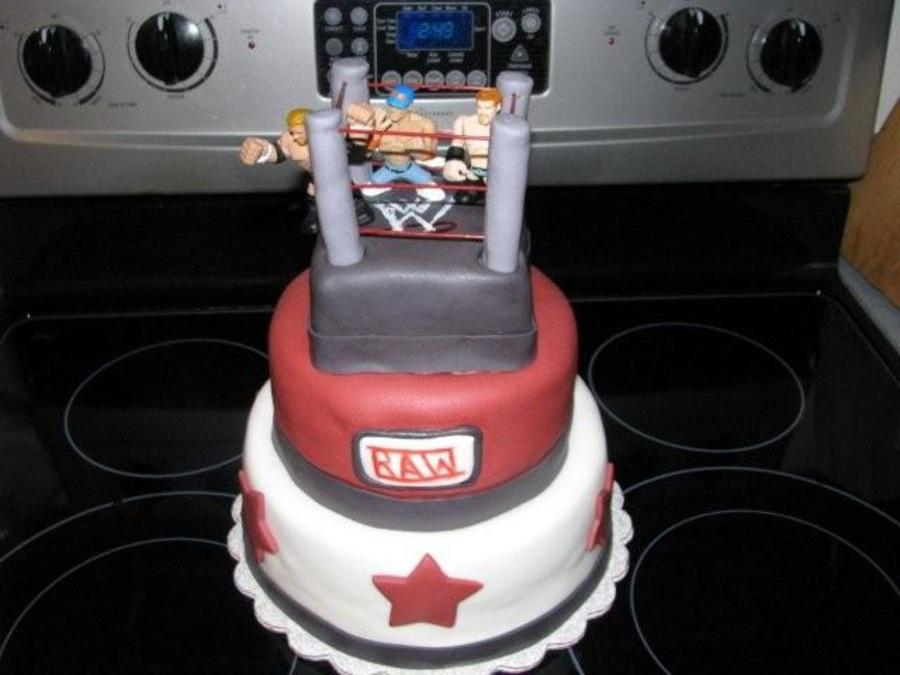 Wwe (Wrestling) Birthday Cake on Cake Central