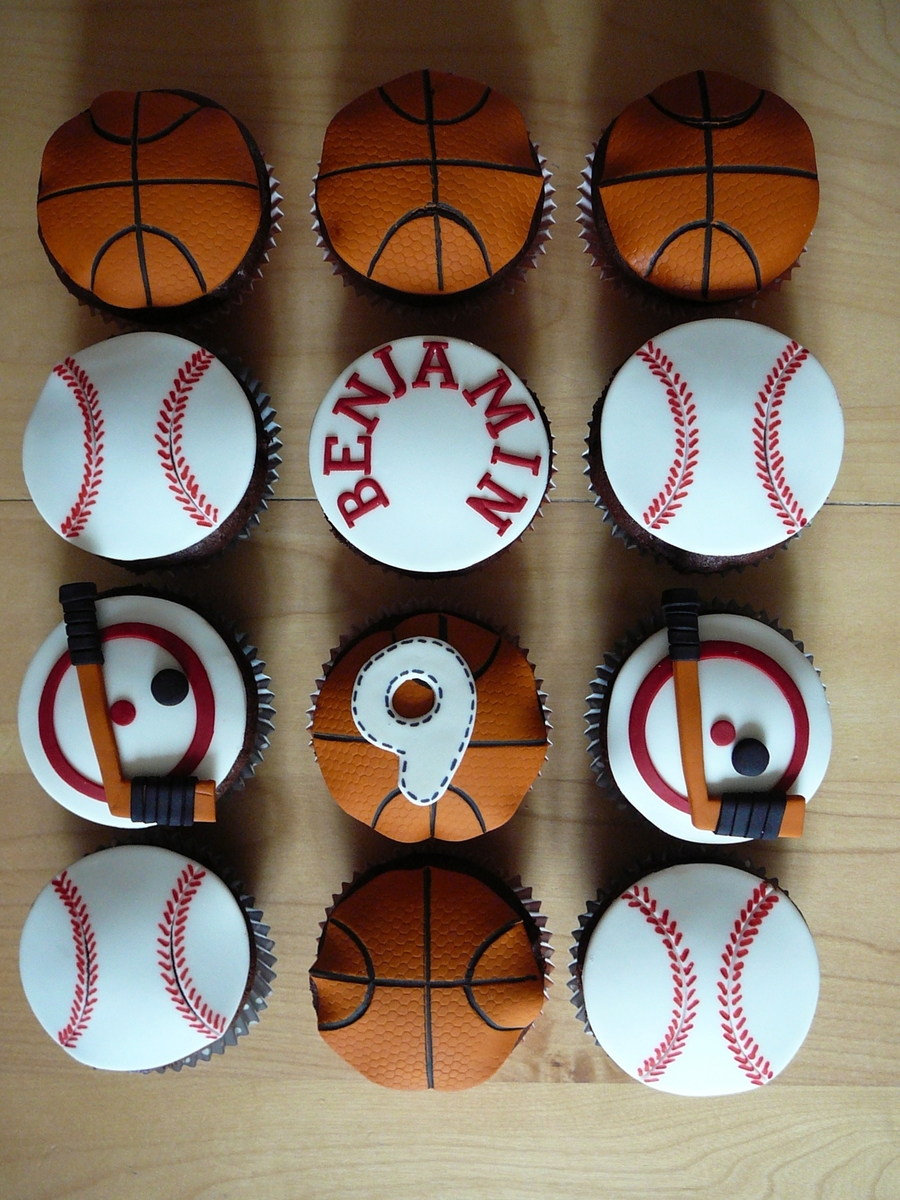 Sport Cupcakes on Cake Central