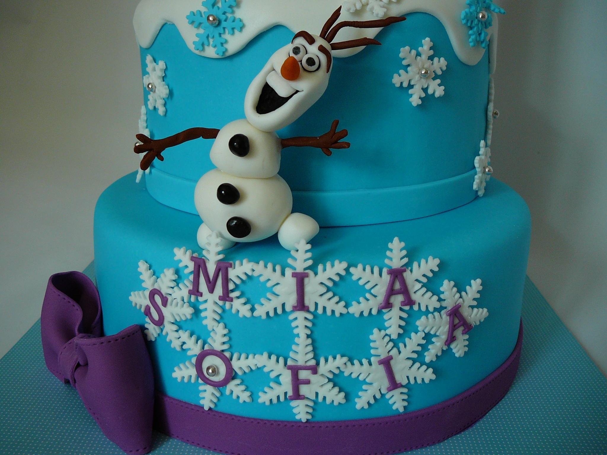 Frozen CakeCentralcom