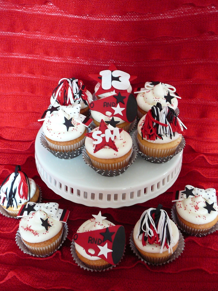 Cheerleading Cupcakes Cakecentral Com