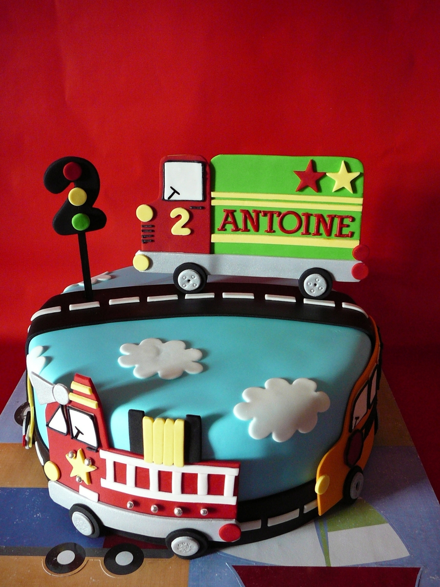 Homemadebirthdaycake For 2 Year Old Boy Pictures Of