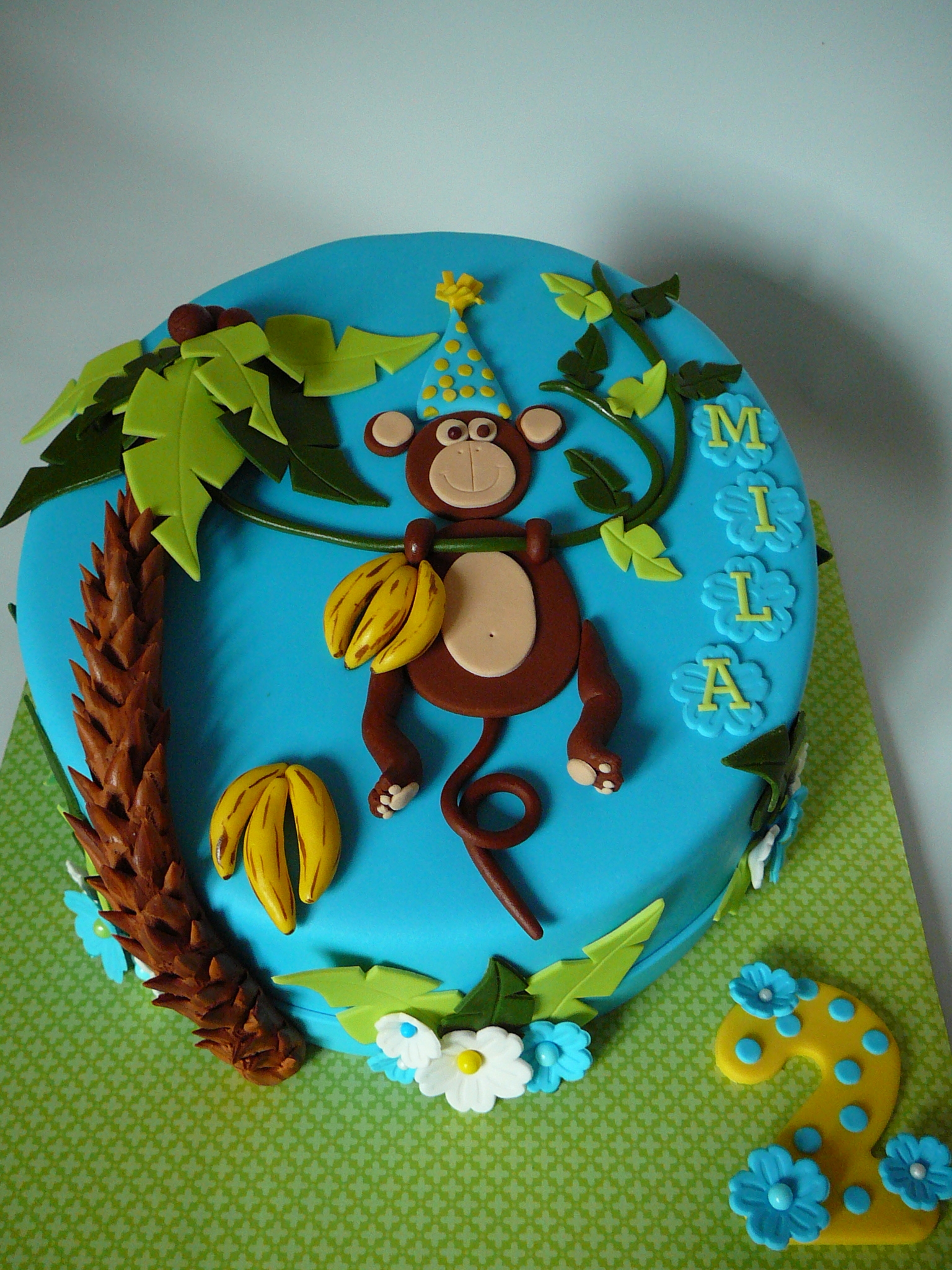 Monkey And Bananas Cakecentral Com
