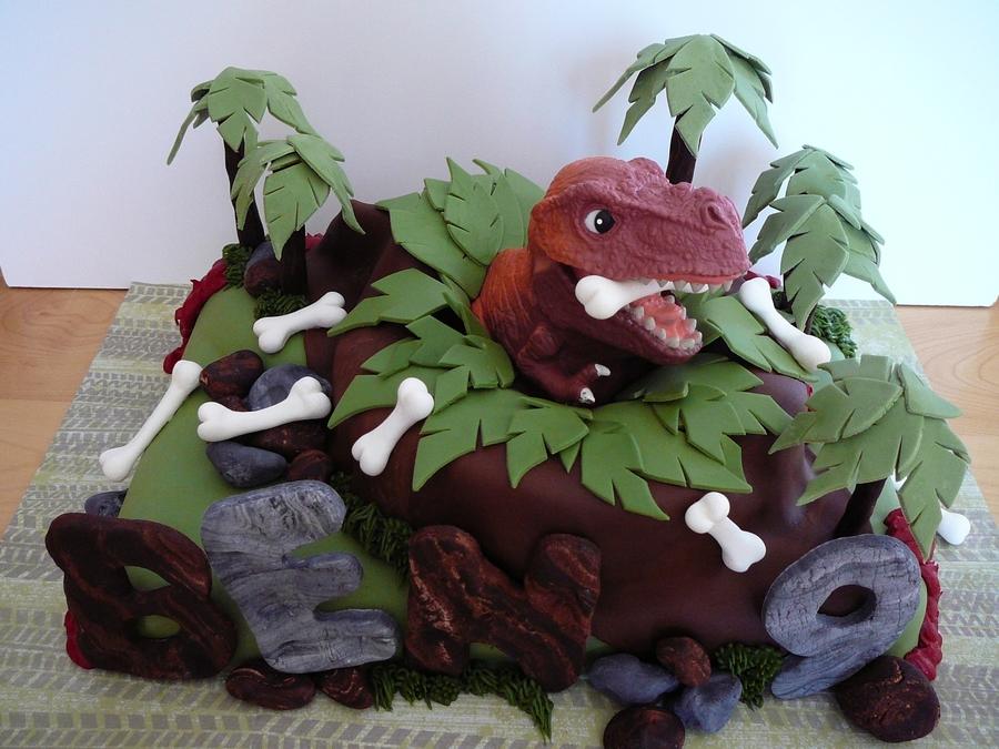 Dinosaur Cake Decorating Ideas