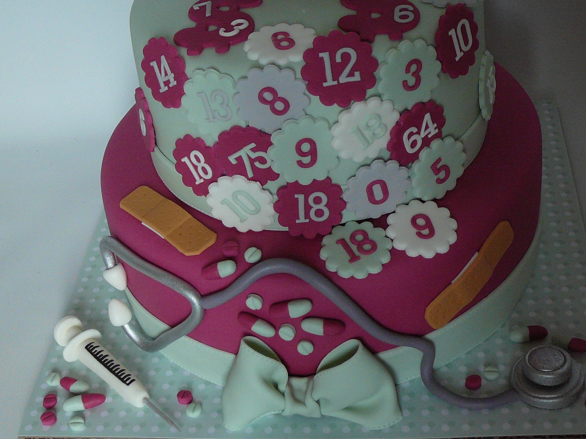 I Made This Cake For The 18Th Birthday Party Of Twin Sisters One
