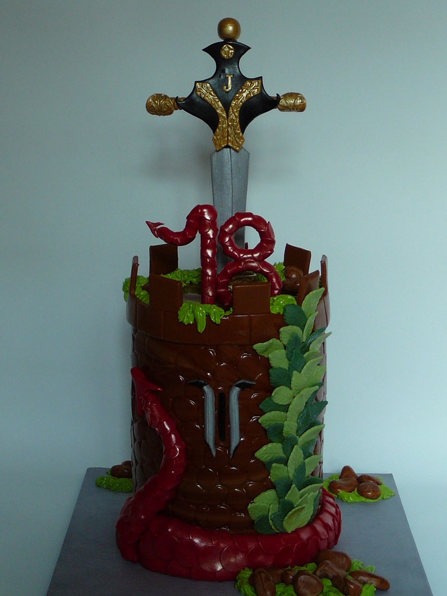 Dungeons Amp Dragons Cakecentral Com