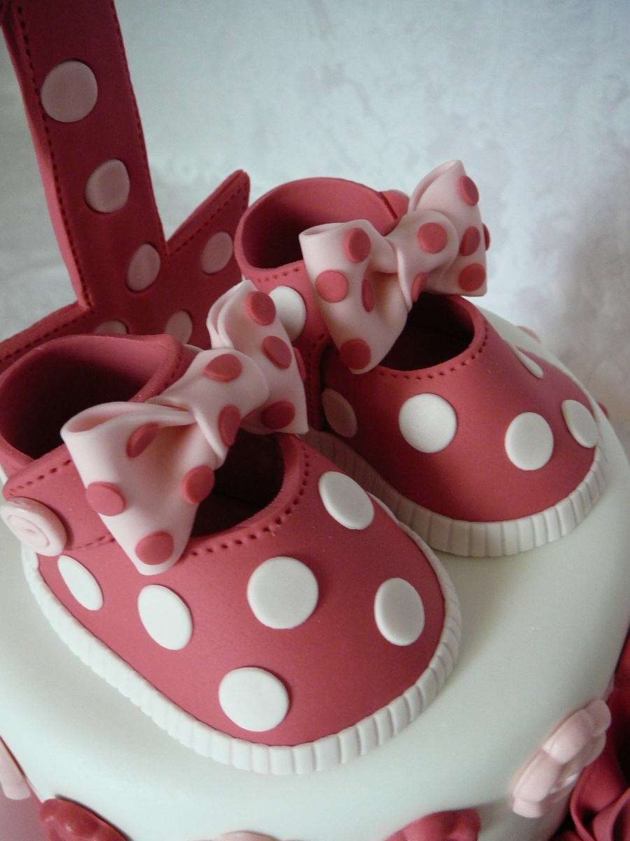 Cake Decorating Baby Shoe Template : Baby Shoe Template Cake Central