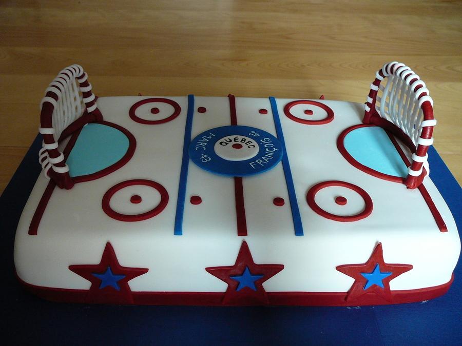 Hockey Rink - CakeCentral.com
