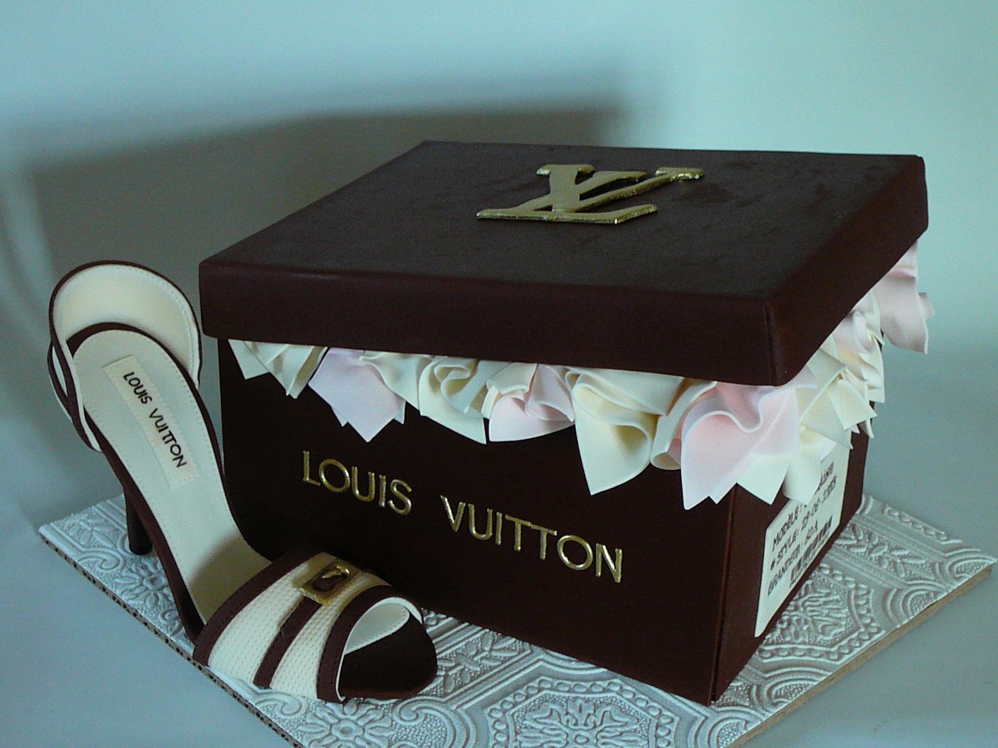 Louis vuitton shoe cakecentral. Com.