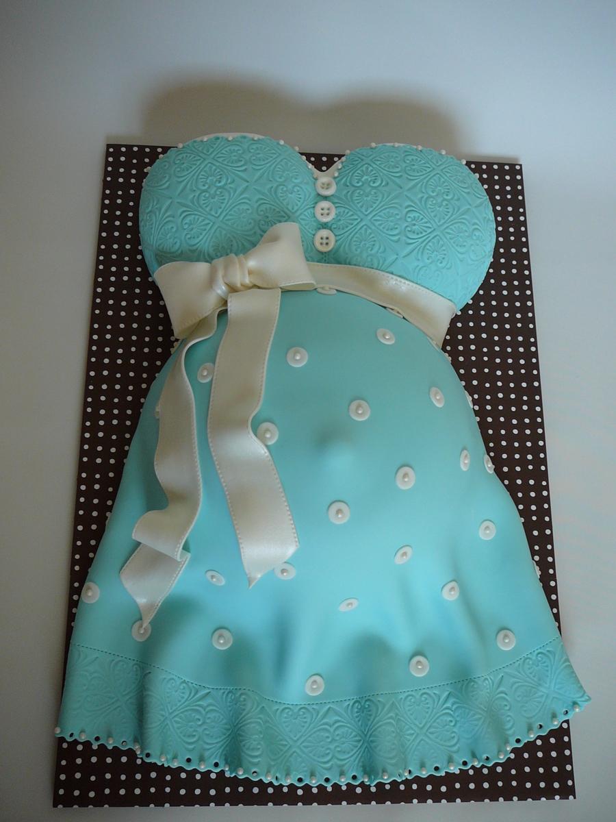 Торт в виде беременной