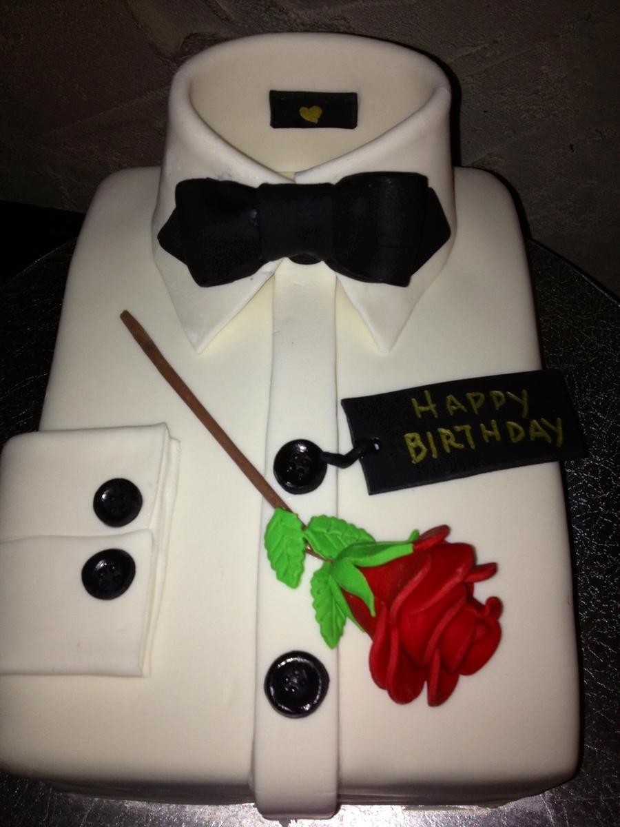 Tuxedo Shirt Birthday Cake Cakecentral Com