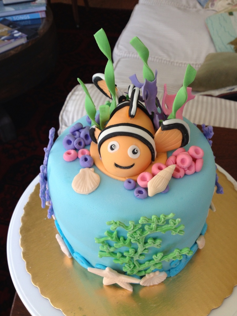 Nemo Birthday Cake on Cake Central