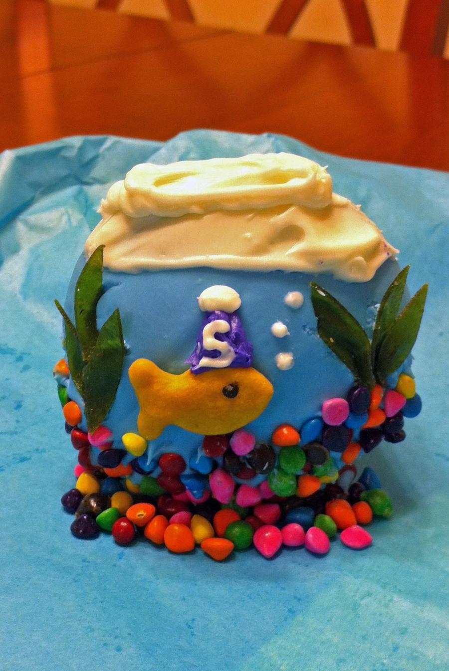Clown Fish Birthday Cake