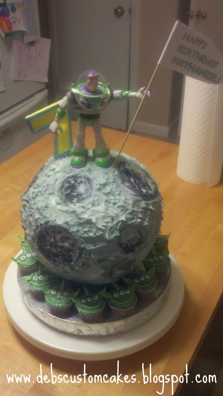 Toy Story Moon Cake on Cake Central