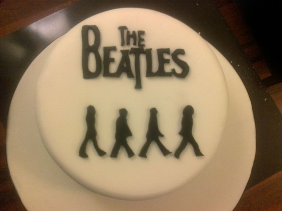 The Beatles - Abbey Road on Cake Central