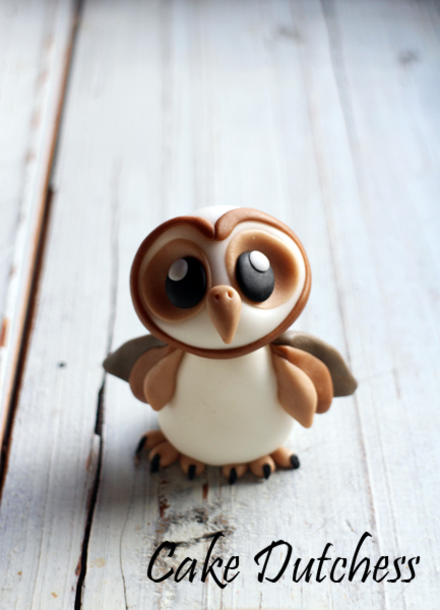 Little Barn Owl on Cake Central