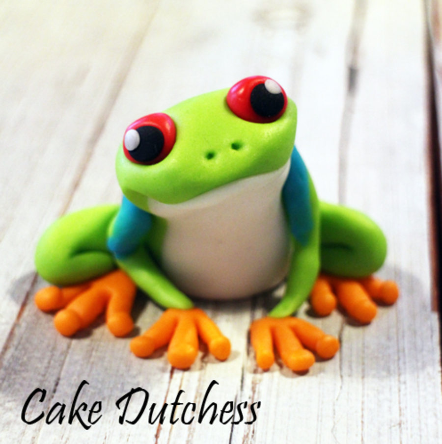 How To Make A Frog Cake Topper