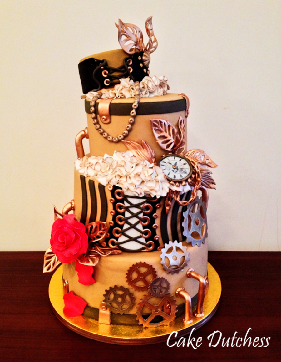 Steampunk on Cake Central