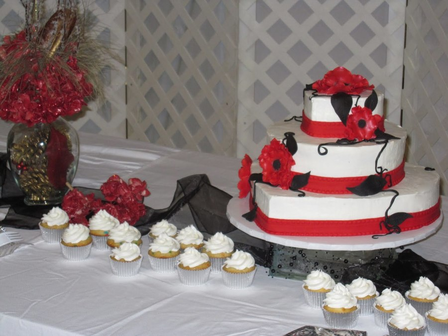 Red, White, And Black! on Cake Central