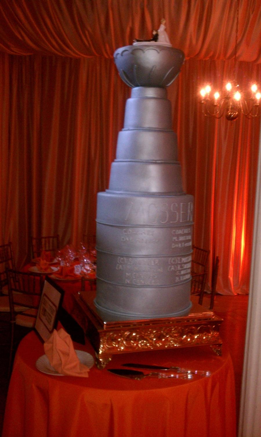 Stanley Cup Wedding - CakeCentral.com
