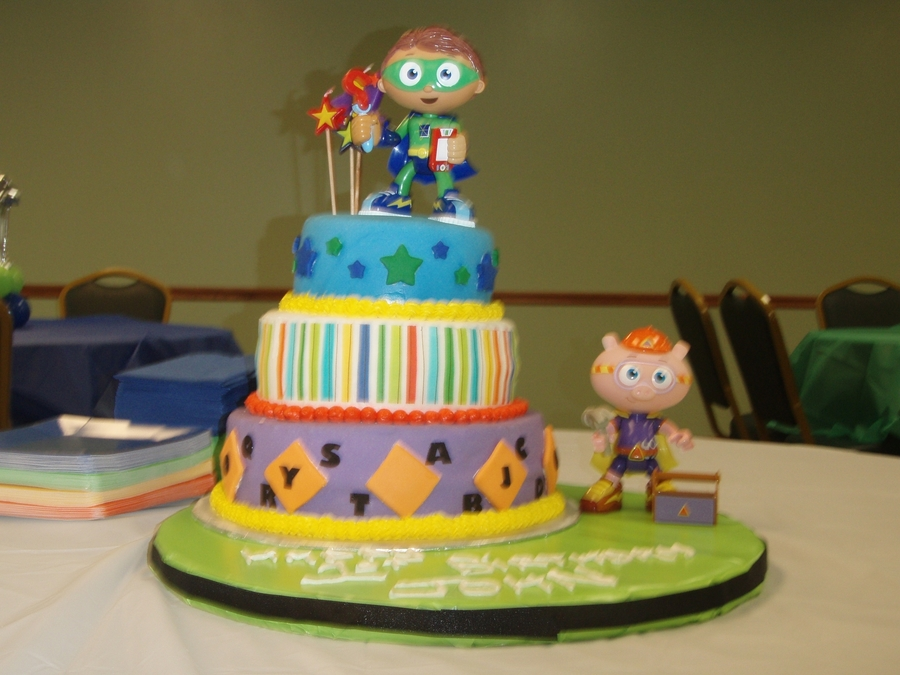 Super Why on Cake Central