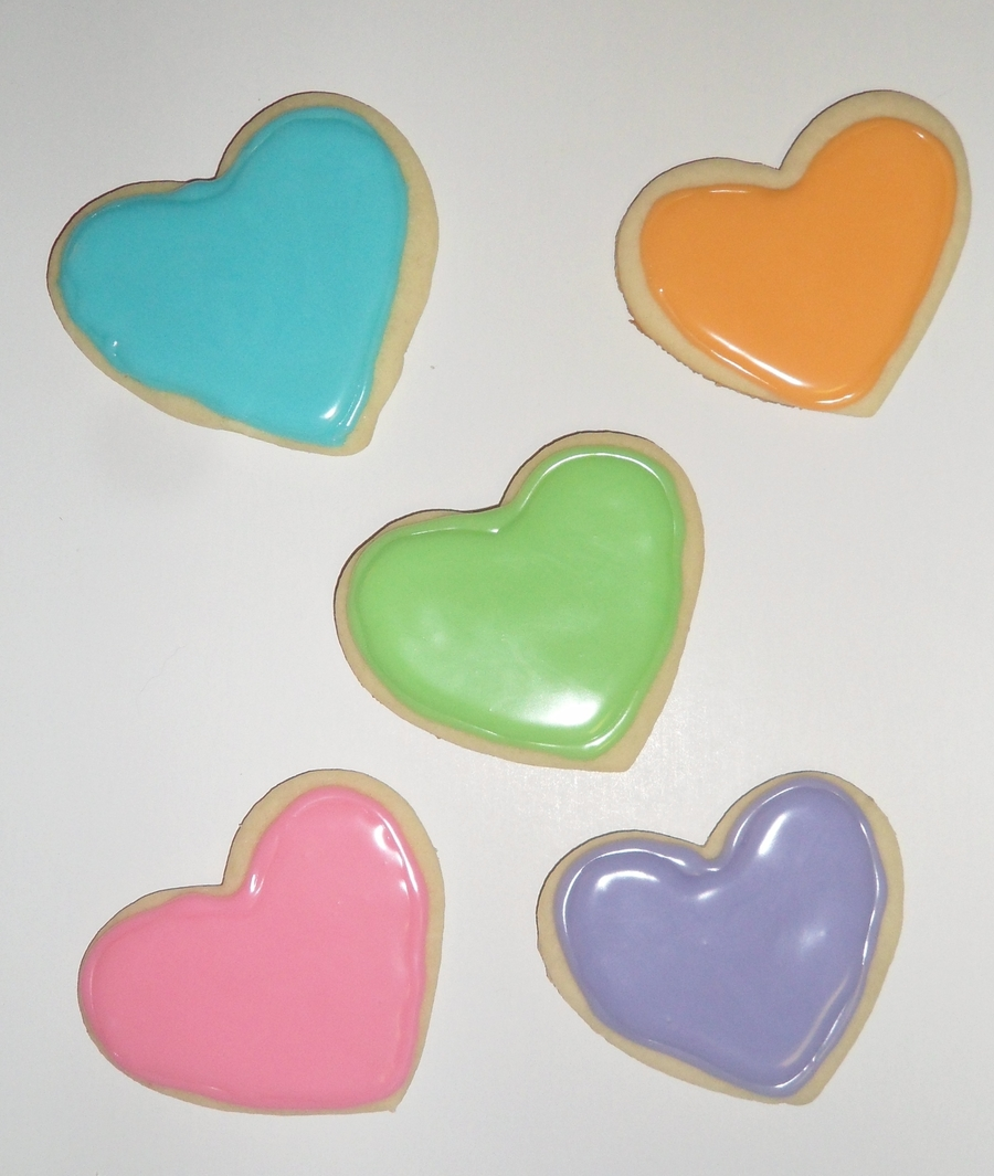 Sweetheart Sugar Cookies on Cake Central