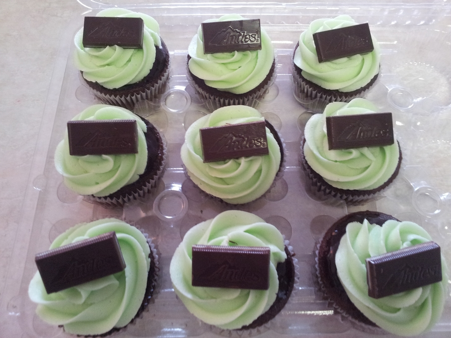 Chocolate Mint Cupcake on Cake Central
