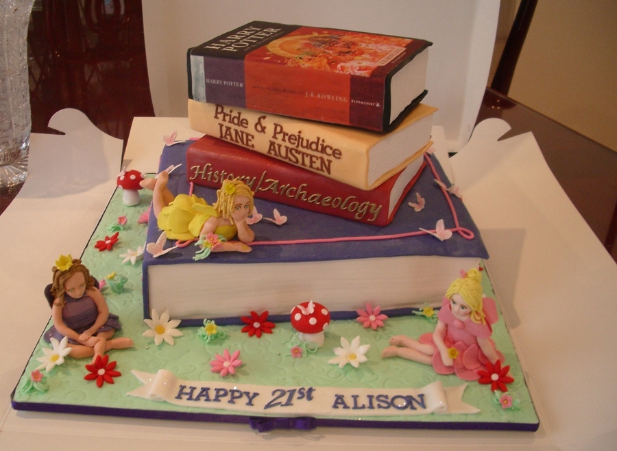 Books And Fairies Cakecentral Com
