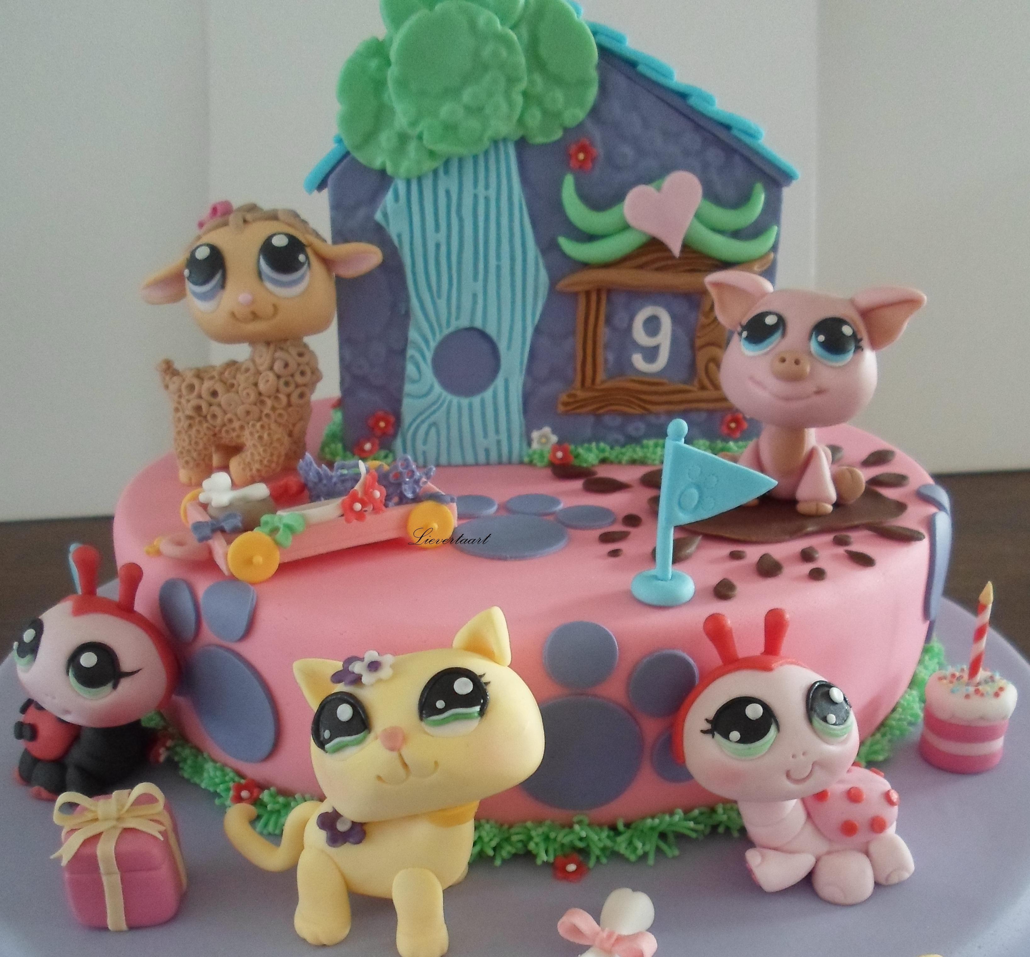 Pet Shop Cake Images
