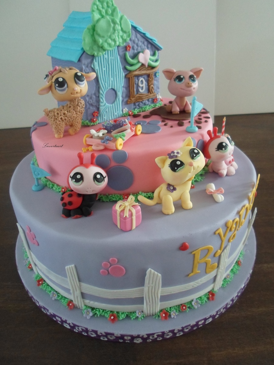 Littlest Pet Shop Cake Cakecentral Com