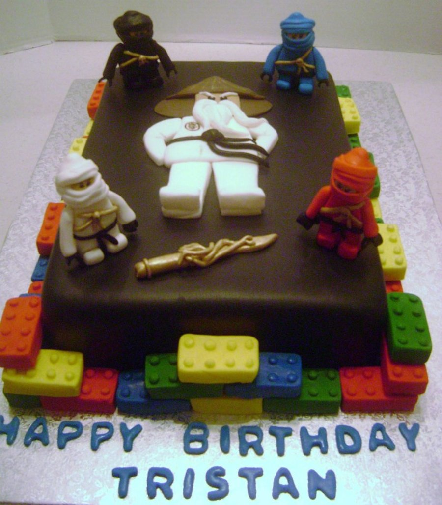 Ninjago Birthday Cake Cakecentral Com
